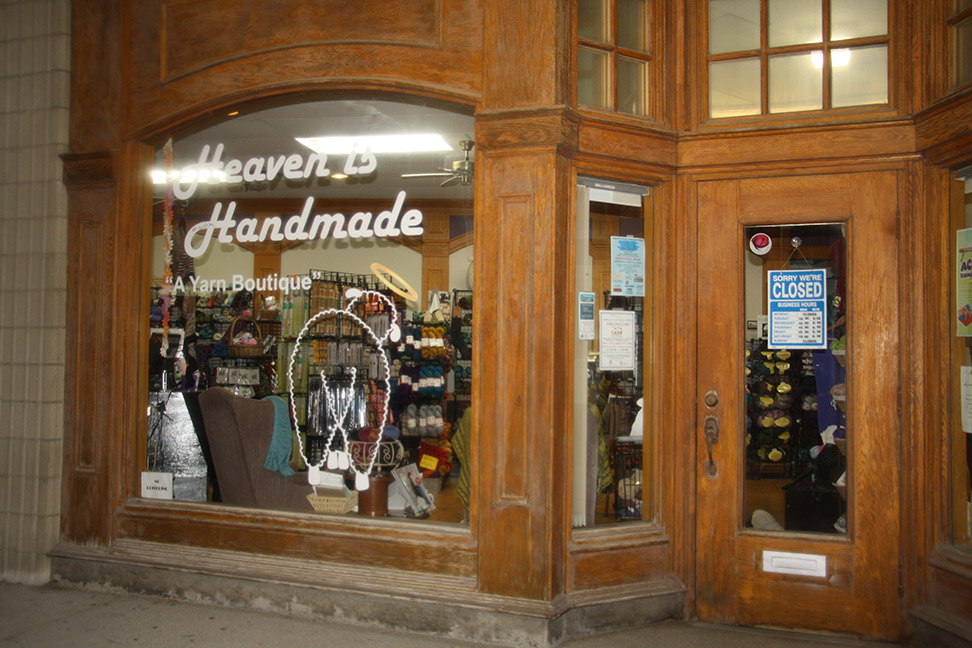 Heaven is Handmade storefront